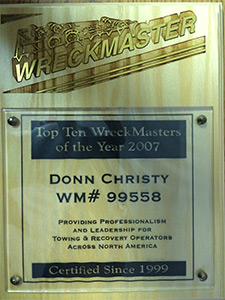 Top ten wreck masters of the year 2007